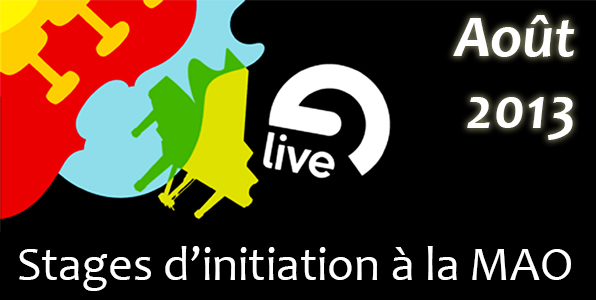 Stages d'initiation Ableton Live (août 2013)